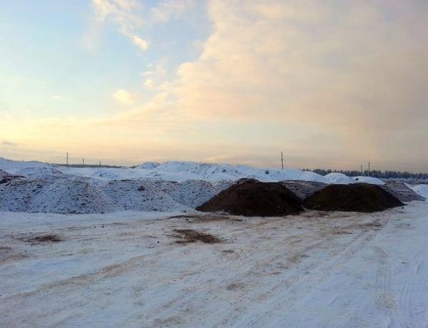 В ЖСК «Новое Шипицыно» завозится песчано-гравийная смесь для строительства дорог